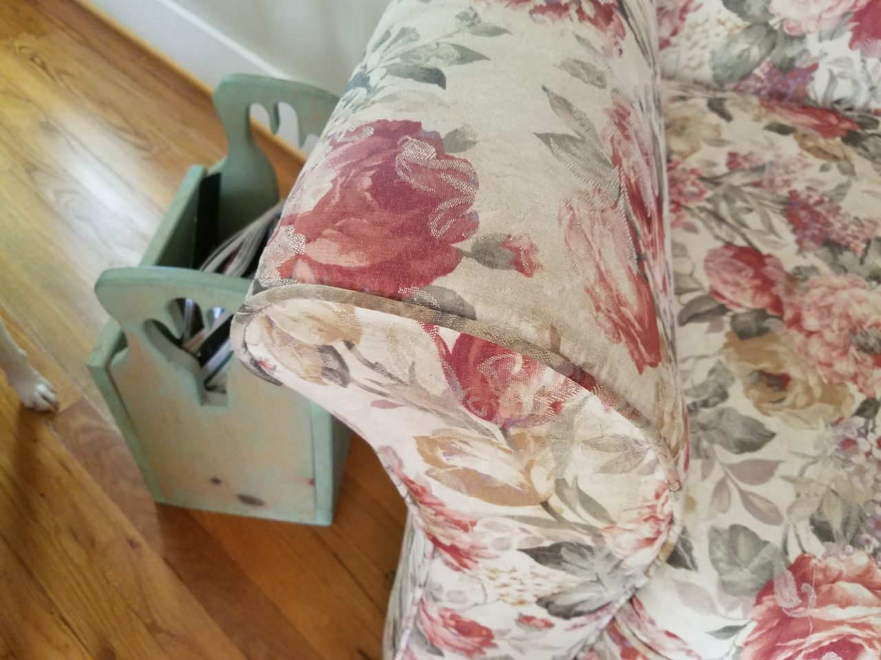 Couch after cleaning